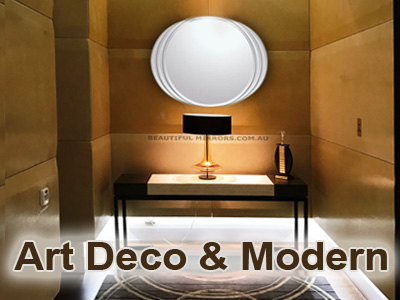 Bathroom Mirrors Melbourne beautiful mirrors - frameless wall mirrors-art deco mirrors