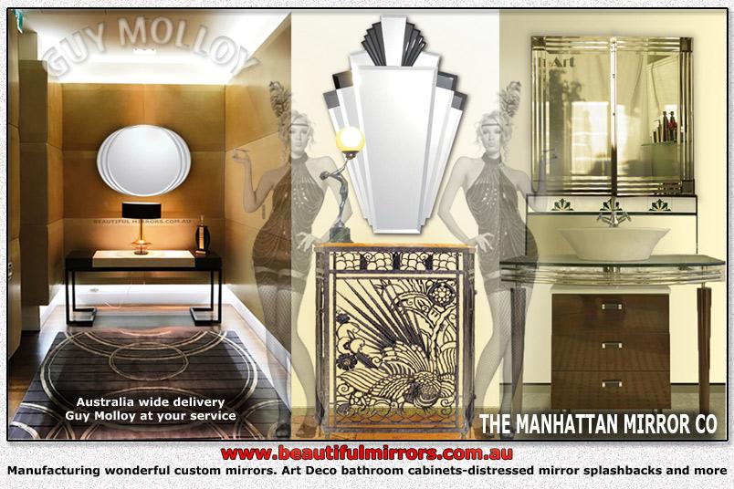 Beautiful Mirrors Frameless Wall Mirrors Art Deco Mirrors Bathroom